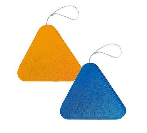 Jo dreieck blau bedrucken werbeartikel mit logo