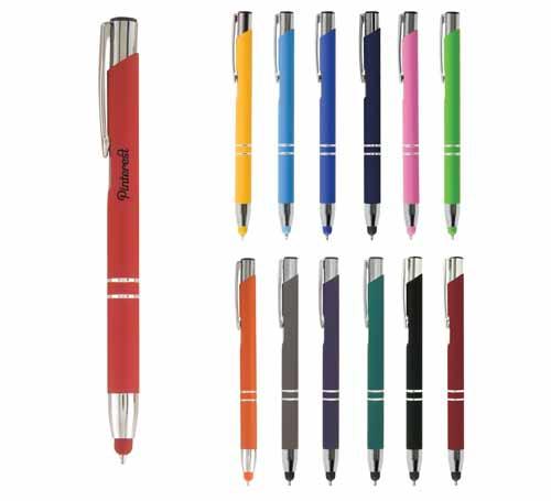 stylus kugelschreiber crosby soft touch mit gravur werbeartikel mit logo. Black Bedroom Furniture Sets. Home Design Ideas