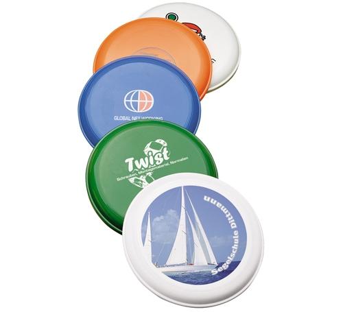 Frisbee jupiter stapelbar bedrucken werbeartikel mit logo