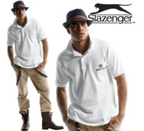 Slazenger Cotton Polo-Shirt Herren