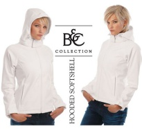 B&C Hooded Damen Softshell Jacke