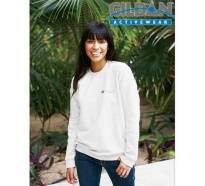 Gildan Ultra Blend Adult Crewneck Sweatshirt White