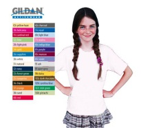 Gildan Cotton Youth T-Shirt, White