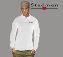 Stedman Polo Long Sleeve, White