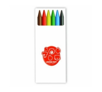 BIC Kids Plastidecor set of 6 crayons
