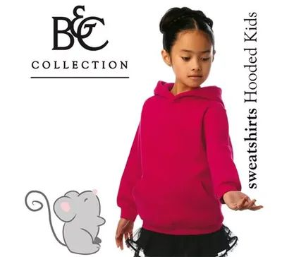 B&C Kinder Sweater Hooded