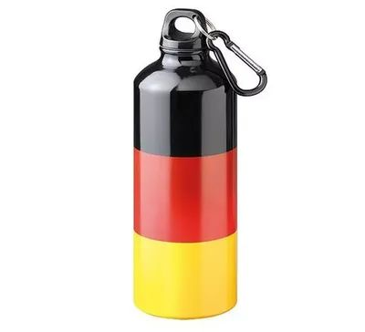 Aluminiumflasche Sporty Nations 0,6 l